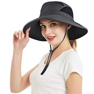 Women's Wide Brim Sun Hat Floppy Hat Packable